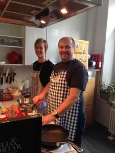 FODMAP -herkän vatsan kokkikoulussa